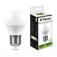 Лампа светодиодная LB-550 (9W) 230V E27 4000K G45