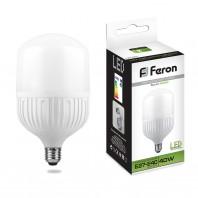 Лампа светодиодная Feron LB-65 (40W) 230V E27-E40 4000K