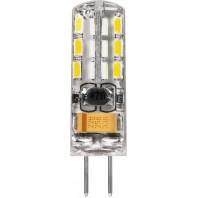 Лампа светодиодная Feron LB-420 (2W) 12V G4 2700K капсула силикон