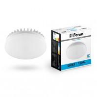 Лампа светодиодная Feron LB-454 (15W) 230V GX53 6400K, для натяжных потолков