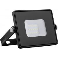 Светодиодный прожектор Feron LL-918 2835 SMD 10W 4000K IP65  AC220V/50Hz, черный  с матовым стеклом  108*115*26 мм