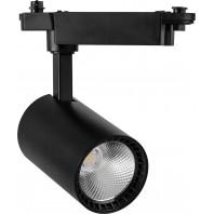 Светильники со светодиодами трековые на шинопровод AL102, 12W, 1080 Lm, 4000К, 35 градусов, черный