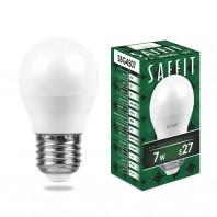 Лампа светодиодная SBG4507 7W 4000K 230V E27 G45