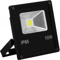 Прожектор светодиодный SFL70-10 черный прямоугольный 10W, 6400K, IP65, AC220V/50Hz  132*113*40 мм