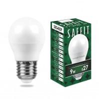 Лампа светодиодная SBG4509 9W 2700K 230V E27 G45