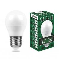 Лампа светодиодная SBG4509 9W 4000K 230V E27 G45