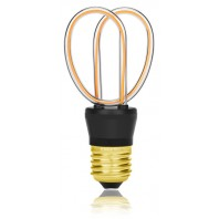 Ретро лампа светодиодная LED SP-Y, E27, золотая, 057-264