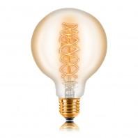 Ретро лампа накаливания Эдисона «Vintage» G95 F5 40W 240V E27 Золотая