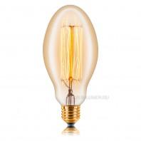 Ретро лампа накаливания Эдисона «Vintage» E75 F2 40W 240V E27 Золотая
