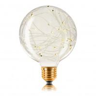 Декоративная светодиодная лампа серии STARRY. G95 40LED, 2200K, 1,5W, E27, 220V, 150lm