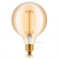 Ретро лампа светодиодная Эдисона диммируемая  G125 2C4+ (длинная спираль)
