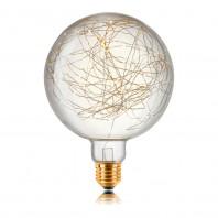 Декоративная светодиодная лампа серии LED G200 Starry 120LED, 2200K, 5W, E27, 220V, 350lm