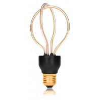 Ретро лампа светодиодная LED SP-DR, E27, золотая, 057-240