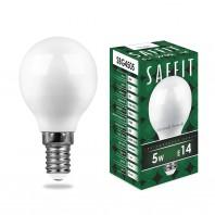Лампа светодиодная SBG4505 5W 2700K 230V E14 G45
