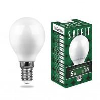 Лампа светодиодная SBG4505 5W 4000K 230V E14 G45