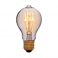 Ретро лампа накаливания Эдисона «Vintage» A60 F1 60W 240V E27