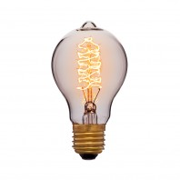 Ретро лампа накаливания Эдисона «Vintage» A60 F5 60W 240V E27