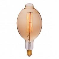 Ретро лампа Эдисона BT180 F2 95W 240V E40 Золотая