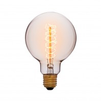 Ретро лампа накаливания Эдисона «Vintage» G45 F5 25W 240V E27