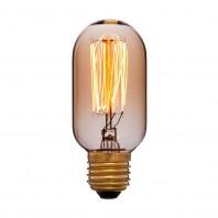 Ретро лампа накаливания Эдисона «Vintage»T45 F2 40W 240V E27 Золотая