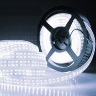 Открытая светодиодная лента холодного белого свечения 3528 1200 LED, IP20,19,2 Вт/м, 24V