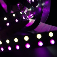 Лента светодиодная RGB+белый 5050 600 LED, IP20, 28,8 Вт/м, 24V