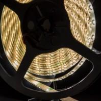 Герметичная светодиодная лента теплого белого свечения 3528 300 LED, IP65, 4,8 Вт/м, 12V
