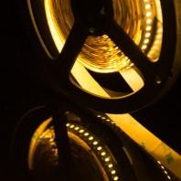 Лента светодиодная SMD 2835, 60 LED/м, 4,8 Вт/м, 12В , IP20, Цвет: Теплый белый стандарт