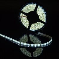 Герметичная светодиодная лента белого свечения 3528 300 LED, IP 65, 4,8 Вт/м, 12V