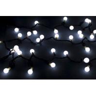 Гирлянда светодиодная LED шарики БЕЛЫЙ 5м соединяемая до 20 шт