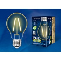 Светодиодная лампа Vintage LED-A67-4W/GOLDEN/E27 GLV21GO  Форма «A».