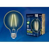 Светодиодная лампа Vintage LED-G80-4W/GOLDEN/E27 GLV21GO Форма «шар»
