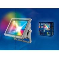 Прожектор светодиодный с пультом ДУ. RGB. ULF-S01-30W/RGB/RC IP65 110-240Вт