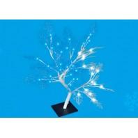 "Дерево светодиодное ""Сакура"" ULD-T3550-054/SWA WHITE-BLUE IP20 FROST ""Морозко"", 50 см. 54 светодиода. Синий и белый свет."