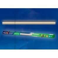 Светильник для растений светодиодный линейный ULI-P10-18W/SPFR IP40 SILVER, 550мм, выкл. на корпусе. Спектр для фотосинтеза полноспектральный