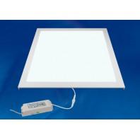Светильник светодиодный потолочный встраиваемый. ULP-6060 40W/4000K IP54 CLIP-IN WHITE Белый свет (4000K). Корпус белый. В комплекте с и/п. Алюминий. ТМ Uniel.