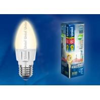 Светодиодная лампа диммируемая LED-C37-6W/WW/E27/FR/DIM