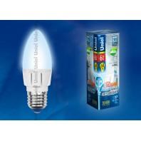 Светодиодная лампа диммируемая LED-C37-6W/NW/E27/FR/DIM