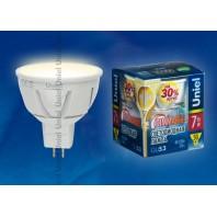 Светодиодная лампа LED-JCDR-7W/WW/GU5.3/FR /PLP01WH
