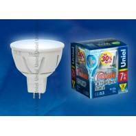 Светодиодная лампа LED-JCDR-7W/NW/GU5.3/FR/PLP01WH