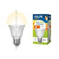 Светодиодная лампа Volpe LED-A60-8W/WW/E27/FR/S 8Вт