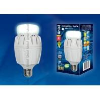 Светодиодная лампа высокой мощности Uniel LED-M88-30W/NW/E27/FR ALV01WH. 4000К
