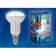 Светодиодная лампа диммируемая LED-R50-6W/WN/E14/FR/DIM PLP01WH картон