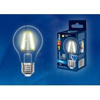 Светодиодная лампа LED-A60-8W/WW/E27/CL PLS02WH SKY серия прозрачная колба