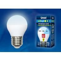 Светодиодная лампа Серия Multibright LED-G45-6W/NW/E27/FR/MB PLM11WH ТМ Uniel.