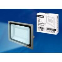 Прожектор светодиодный ULF-F16-100W/DW IP65 185-240В SILVER Холодный свет 6500К