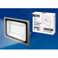 Прожектор светодиодный ULF-F16-100W/NW IP65 185-240В SILVER Белый свет 4000К