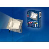 Прожектор светодиодный ULF-F15-10W/WW IP65 185-240В SILVER 3000К (Теплый белый)