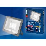 Прожектор светодиодный ULF-F15-70W/NW IP65 185-240В SILVER Белый свет (4000K)
