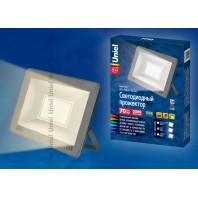 Прожектор светодиодный ULF-F15-70W/WW IP65 185-240В SILVER Теплый свет (3000K)